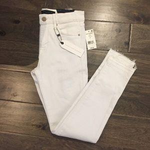 SANCTUARY BRAND NEW WHITE SKINNY JEANS